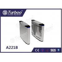 Buy cheap Pedestrian Flap Turnstile Barrier Gate , Access Control Security Access Gates product