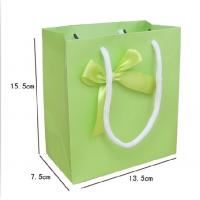 Buy cheap Ivory cardboard paper shopping bag any color printing any size from wholesalers