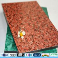 Buy cheap multiple -choice for marble/silver brushed/fireproof aluminum plastic composite panel product