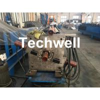 Buy cheap Aluminum Or Galvanized Steel Round Downspout Roll Forming Machine For Making Water Pipe, Rainwater product