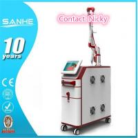 China Beijing SANHE Q-switch nd yag laser for different colors tattoo removal and skin rejuvenation with 1064nm and 532nm wholesale