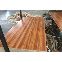 Buy cheap E1 Formaldehyde Emission Commercial Grade Plywood , Melamine Faced Plywood product
