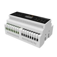 Buy cheap 4 Isolated Channels Smart Lighting Control Systems 0-10V Dimmer Module 12 AWG product