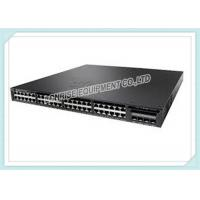 Buy cheap 4 X 1G Uplinks Cisco Optical Fiber Switch PoE WS-C3650-48PS-L Layer 3 Switching product