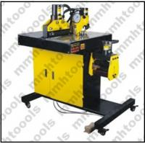 DHY-200 hydraulic busbar bending cutting and hole punching machine