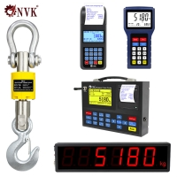 Buy cheap 1/2/3t Electronic Wireless Weighing Crane Scale Digital Hanging Scale 3 tons product