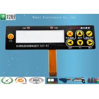 Buy cheap Embossing FPC Membrane Switch Keypad / SMT Led Membrane Push Button Switch product