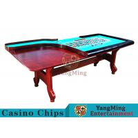 Buy cheap Stable H - Shaped Legs Casino Poker Table With Three Anti - Static Tablecloths product