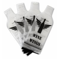 Buy cheap NEW PVC Plastic Protective Wine Bubble Skin Bag for Wine Bottle Protector. transprent PVC Material product