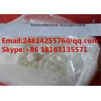 Buy cheap White Crystalline Raw Anabolic Steroid Powder Testosterone Isocaproate CAS 15262 from wholesalers