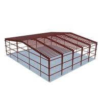 Buy cheap Low Costs Prefab Workshop Steel Structure Buildings Steel Truss Main Frame product