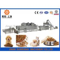 Buy cheap Commercial Automatic Pet Food Extruder , Animal Feed Processing Equipment product
