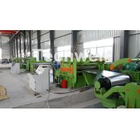 Buy cheap Steel Metal Cut To Length Line High Precision For Cutting Coil Into Required Length product