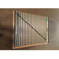 Buy cheap 20 - 325 Fine Mesh Oil Vibrating Sieving Mesh Screen Double / Triple Layer product