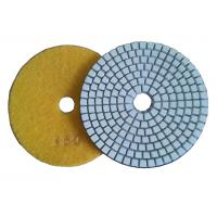 Buy cheap 3 Step Dry Diamond Polishing Pads For Concrete / Marble Floor product