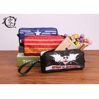 Buy cheap Marvel Batman Logo Pencil Case Pouch Polyester Canvas Pencil Box Gift For Children School Opening product