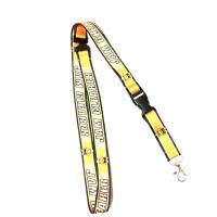 China Corloful Sublimation Lanyard Neck Straps For Id Cards With Cute Cartoon Logo wholesale