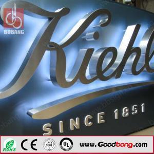 Buy cheap professional custom shape vacuum forming LED alphabet letter sign product