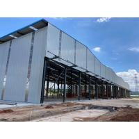 Buy cheap Recyclable Anti Impact H Section Q355B Garage Steel Frame product