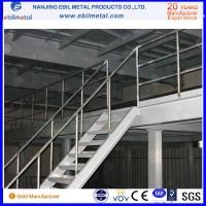 Buy cheap 2-3 шкаф мезонина склада К235б пола яруса стальной/стальная платформа с пефорированными плитами product