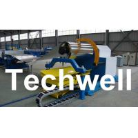 Buy cheap 10 Ton Hydraulic Uncoiler Curving Machine With Coil Car With Coil Width 1500mm product