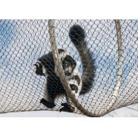 Buy cheap Strong Toughness Stainless Steel Zoo Mesh Easy Installation For Ape / Monkey from wholesalers
