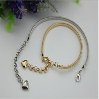 Buy cheap Universal fashion 129 mm length iron material light gold women shoes metal chain buckle with hooks product