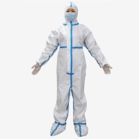 China Personal Care Anti Chemical Agents SF Disposable Body Suit on sale