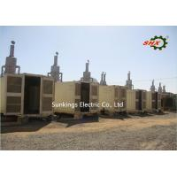 Buy cheap 230V/400V AC 3 Phase Diesel Generator / Construction Container Diesel Genset 800KW/1000KVA product