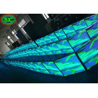 Buy cheap Convex or Concave Curved Video Walls Stage LED Screens Event Usage P3.91/ P4.81 from wholesalers