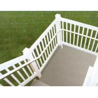 Buy cheap Alloy 6063 - T5 aluminum hand railings for stairs , aluminum porch railing product