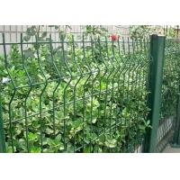 Buy cheap Green Welded Wire Garden Fence Decoration With 1.5-3.0m Width product