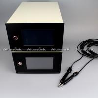 Buy cheap Step or continuous Ultrasonic Plastic Welding Equipment / Wire Embossing Machine product