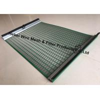 Buy cheap Durable High Penetration Shale Shaker Screen Triple Layer Laminated Wire Mesh from wholesalers