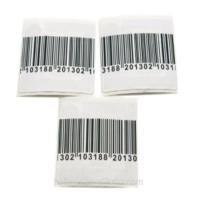 Buy cheap RF Small Square Garment Electronic Shelf Mini Hammer Tag / Durable Barcode Labels product