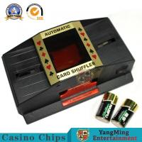 China Plastic Playing Card Shuffler Manual Operation Of Battery  Texas Poker Table Casino Accessories on sale