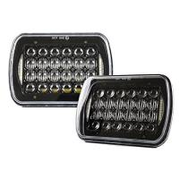 China 5x7 7x6-inch LED rectangular LED headlight projector headlamp replacement H6054/H5054/H6054LL/69822/6052/6053 on sale