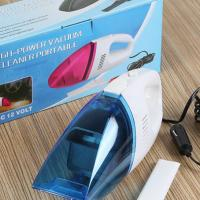 Buy cheap CE Standard 12v Dc Hand Held Vacuum Cleaners Blue And White Color from wholesalers
