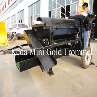 Buy cheap 5t/H 400*1300mm Gold Mining Machine Portable Gold Trommel product