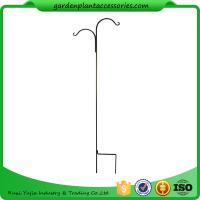 Buy cheap Tall Garden Plant Accessories 48 Inch Double Shepherd'S Hook Plant Hanger product