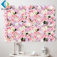 Buy cheap Wedding Use Artificial Vertical Garden , Indoor Stereoscopic Silk Flower Wall product