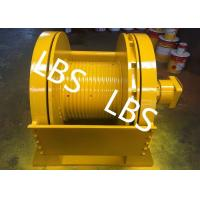 Buy cheap Low Noise 5 Ton 6 Ton 8 Ton Hydraulic Crane Winch With Lebus Sleeves product