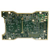 Buy cheap Single Panel Green Color TG170 Multilayer PCB Board ENIG Surface Treatment product