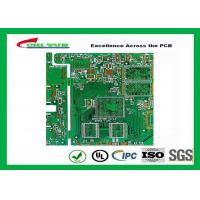 Buy cheap PCB Fabrication 6L OSP Electronic PWB with Impedance Control 1.6mm product