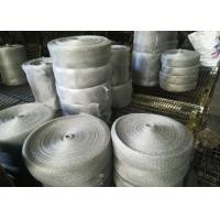 Buy cheap Multifilament Engineering Stainless Steel Knitted Mesh For Shielding / Filtering product