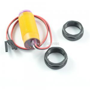 Buy cheap Sensor fotoeléctrico infrarrojo de la evitación del obstáculo de E18-D80NK los 3-80cm con proximidad del conector product