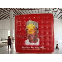 Buy cheap Red Reusable durable helium cube balloon with Full digital printing for Sporting events product