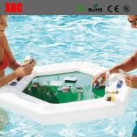 China 2018 PE Made Hollow Structure Plastic Outdoor Furniture / Floating Poker Table on sale
