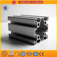 Buy cheap Durable T5 Temper Aluminium Industrial Profile 40 x 80 / 80 x 80 product