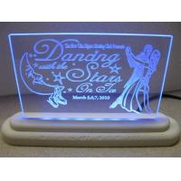 Buy cheap Edge - Lit Flashing Pattern Acrylic Signs Letters product